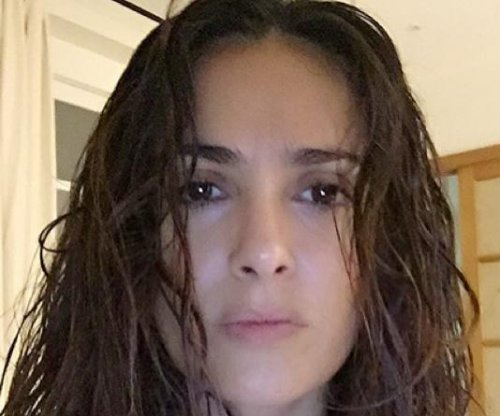 Salma Hayek shares makeup-free selfie at 49