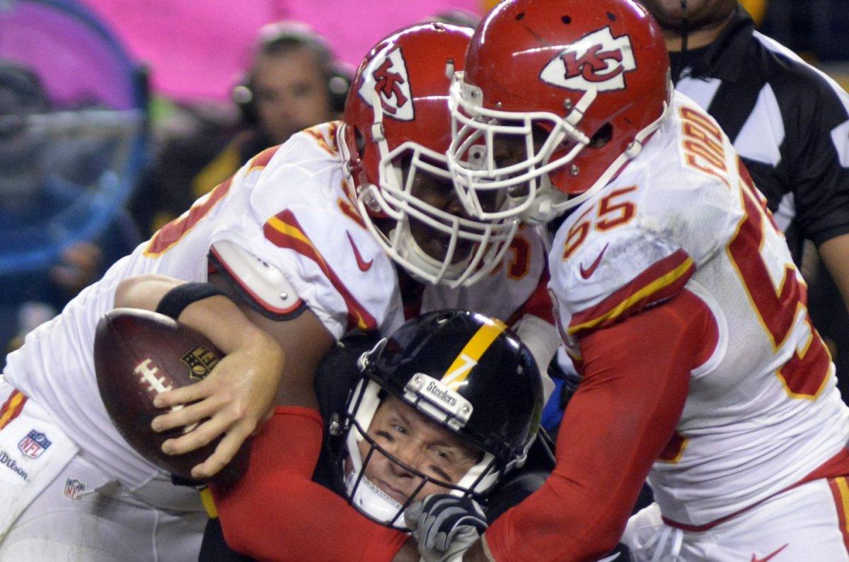 Kansas City Chiefs rule out WR Jeremy Maclin DE Jaye Howard LB