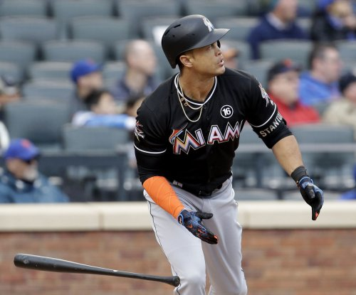 Giancarlo Stanton sets franchise RBI record as Miami Marlins beat Arizona Diamondbacks
