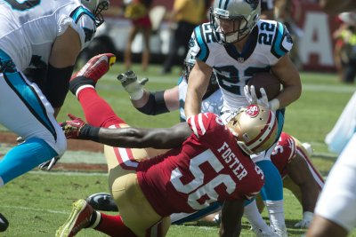 San Francisco 49ers optimistic Reuben Foster isn't seriously hurt