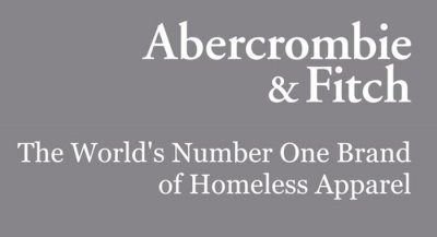 Abercrombie & Fitch axes logos after years of declining sales and bad press