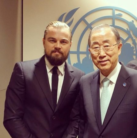 Leonardo DiCaprio joins Instagram day of U.N. Climate Summit