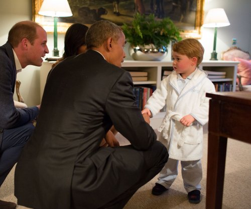Prince George's $39 robe from Obama meeting sold out in minutes