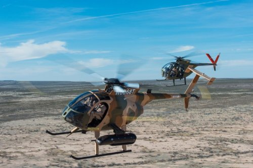 MD Helicopters to support MD 530F Cayuse Warrior in Afghanistan
