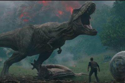 Chris Pratt wants to rescue dinosaurs in new 'Jurassic World 2' trailer