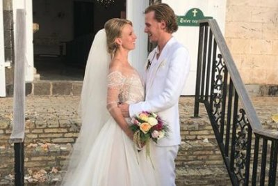Barron Hilton marries Tessa Grafin von Walderdorff in St. Barts