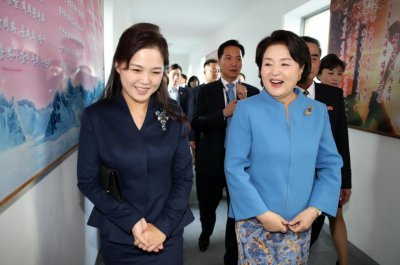 North Korea's Ri Sol Ju attends concert with South Korea first lady