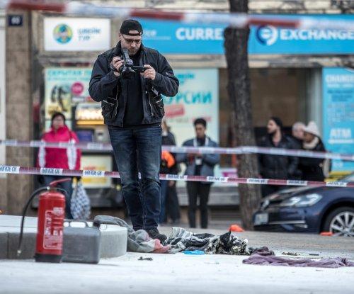Prague man sets himself on fire in square