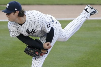 Gerrit Cole strikes out 15, leads Yankees over Angels