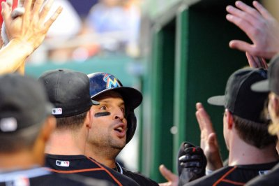 Two-out hits key Miami Marlins' win over Washington Nationals