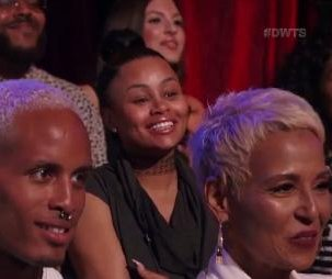 Blac Chyna supports Amber Rose on 'Dancing with the Stars'