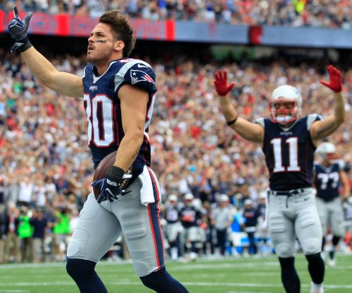 New England Patriots' Julian Edelman coy on question of playing QB