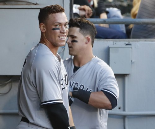 New York Yankees' Aaron Judge breaks Joe DiMaggio's rookie HR record