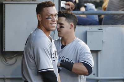 New York Yankees' Aaron Judge breaks Joe DiMaggio's rookie HR record