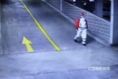 Police seek 'Bad Santa' in Mercedes theft case
