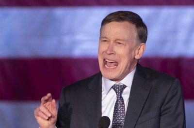 John Hickenlooper attacks Trump, calls for unity in first campaign speech