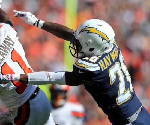 Ex-Chargers CB Casey Hayward signs with Raiders