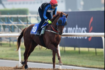 UPI Horse Racing Preview: Dubai World Cup, Kentucky Derby preps