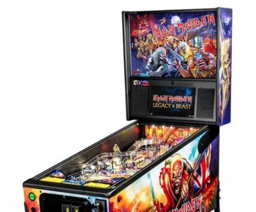 Iron Maiden 'Legacy of the Beast' pinball machine announced