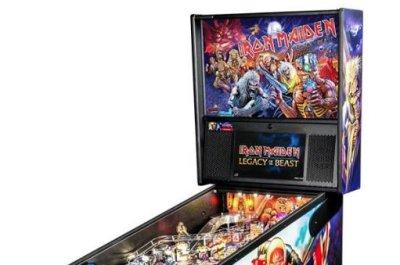 Iron Maiden 'Legacy of the Beast' pinball machine announced