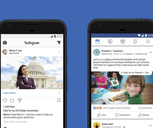 Facebook launches new political ad disclosure policy