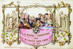 World's first commercially printed Christmas card on sale for $25,000