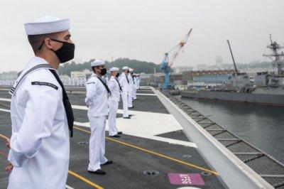 USS Ronald Reagan carrier strike group departs Japan