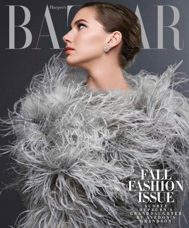 Emma Ferrer channels grandmother Audrey Hepburn for Harper's Bazaar