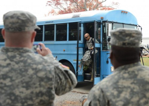 90 U.S. troops returning from Liberia monitored for Ebola