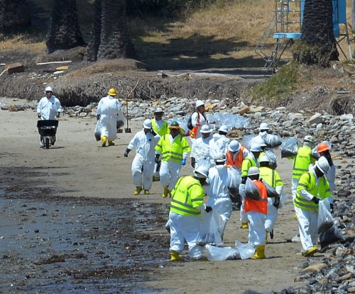 House safety drum sounded for California oil spill