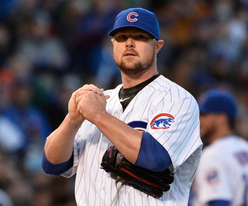 Jon Lester leads Chicago Cubs past Los Angeles Dodgers