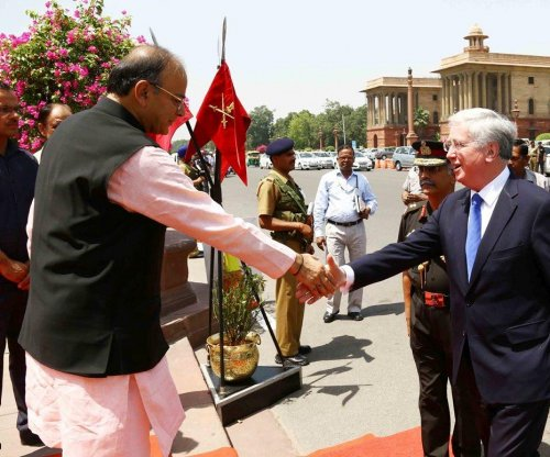 Britain, India hold first meeting as part of 2015 defense pact