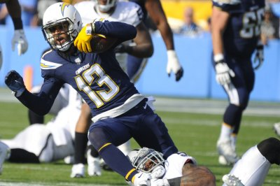 Chargers WR Allen back at practice