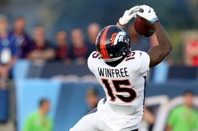 Broncos beat Falcons on tipped touchdown pass in NFL preseason