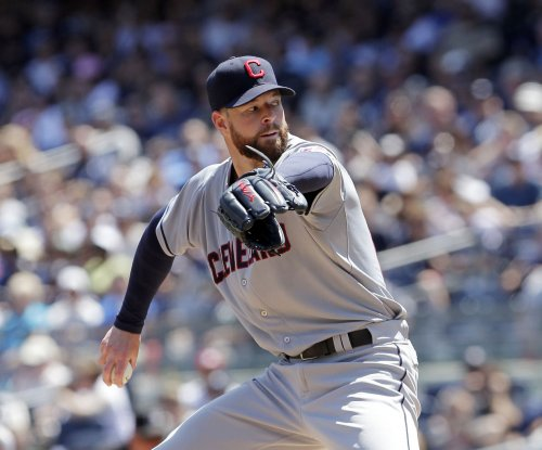 Cleveland Indians hang on to preserve win for Corey Kluber
