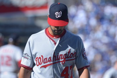 Washington Nationals pick up $12M option on LHP Gio Gonzalez