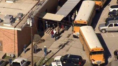 Teen girl shot at Texas high school; boy taken into custody