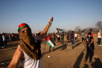 More than 100 Palestinians injured in Gaza border protests