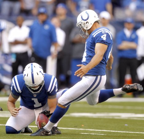 Colts kicker Adam Vinatieri wants four points for 50-yard field goals