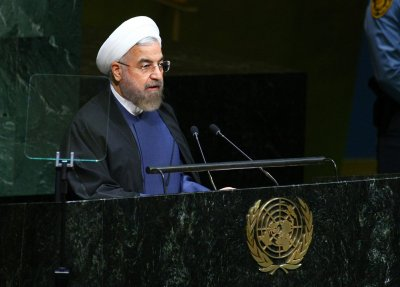 Airstrikes against Islamic State 'a form of theater,' says Iran's president