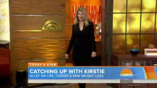 Kirstie Alley shows off 50 pound weight loss