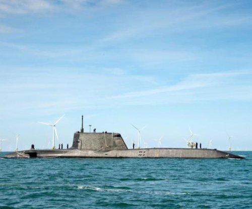 Sea trials start for new Royal Navy submarine