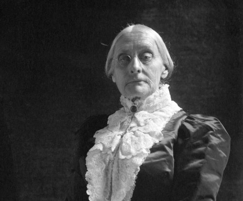 Voters honor suffragette Susan B. Anthony at grave on election day