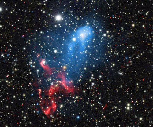 Astronomers discover cosmic particle accelerator