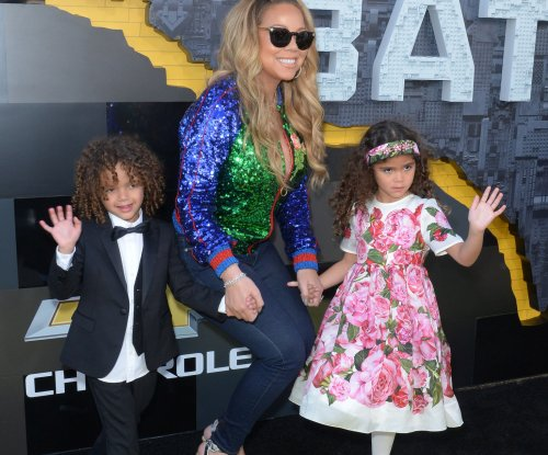 Mariah Carey brings her children to 'LEGO Batman' premiere