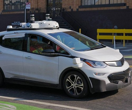 GM unveils self-driving Chevy Bolt in San Francisco test drives