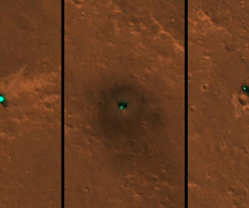 InSight lander spotted from space