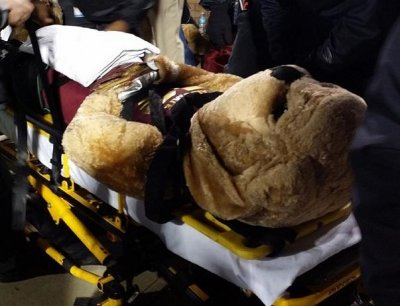 Mississippi State mascot injured by ESPN cart