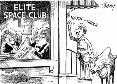 New York Times apologizes for cartoon mocking India's Mars Orbiter Mission