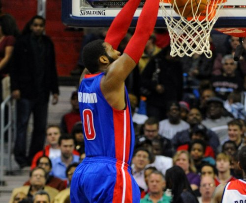 Detroit's Andre Drummond determined, Pistons win